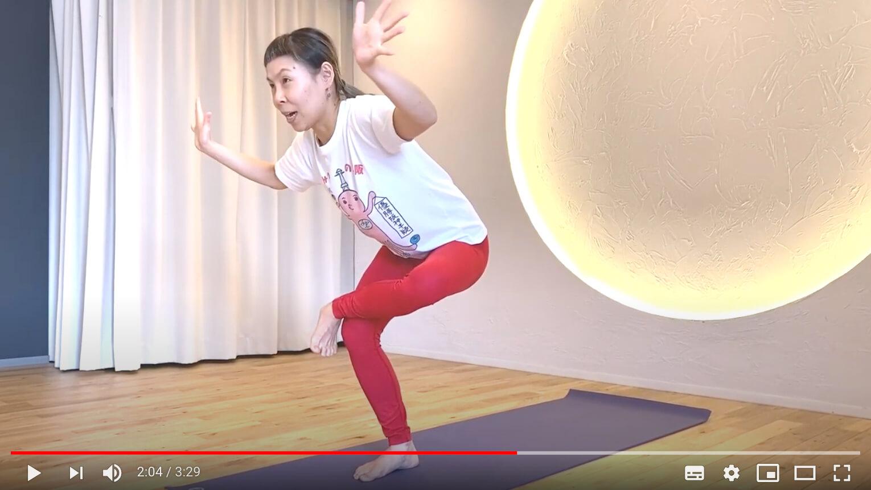 片岡まりこ先生の面白い動き