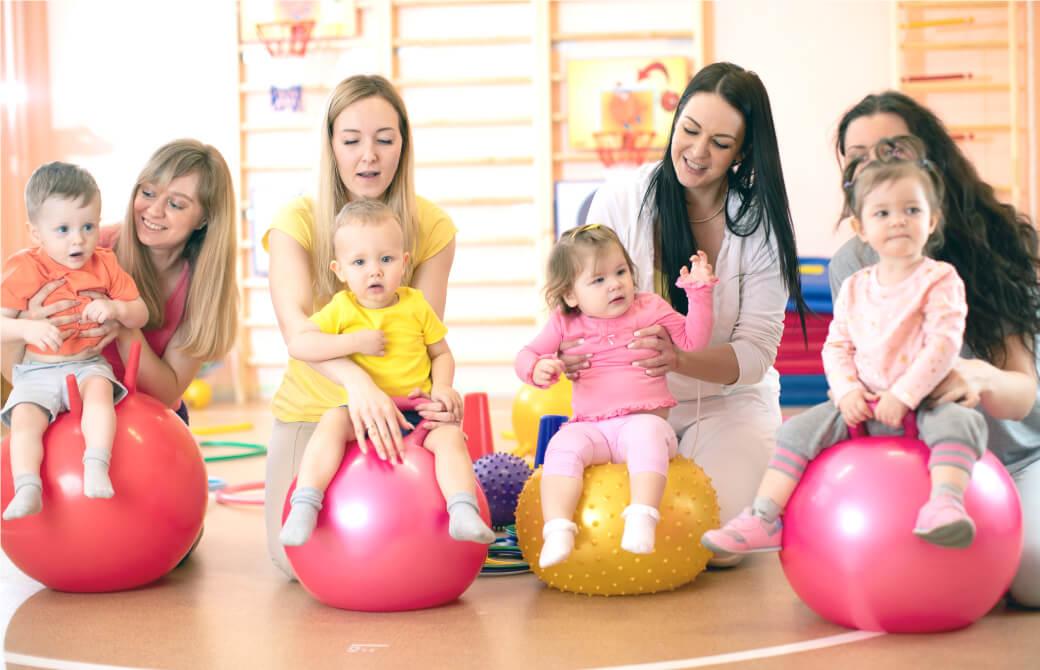 赤ちゃんとママの集まり