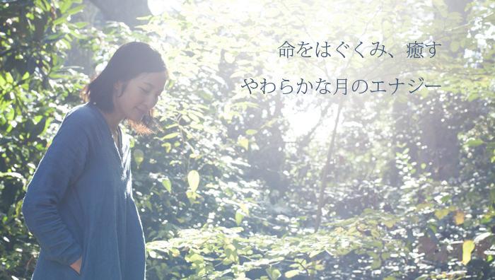 サントーシマ香先生が森林浴している
