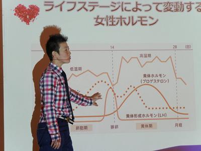 高尾先生講義風景