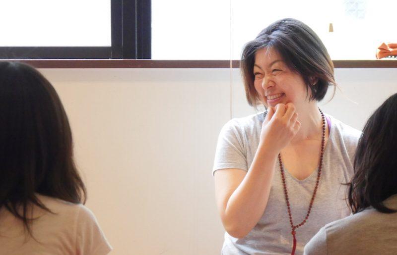 満面の笑みのMAKI先生