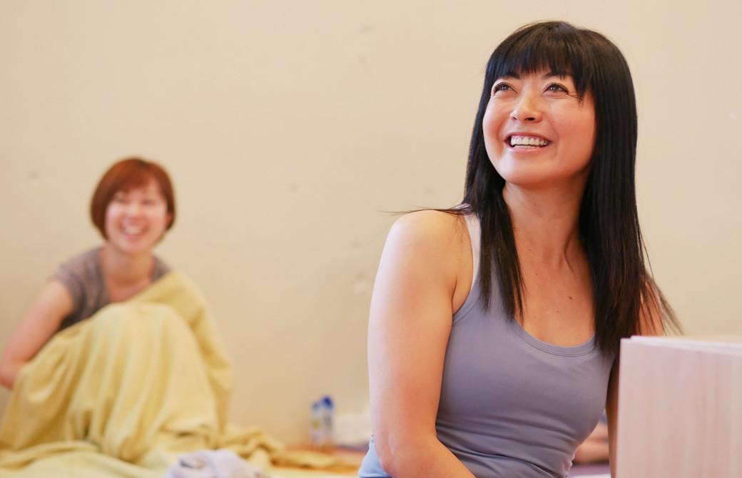 マンソン美子先生の笑顔