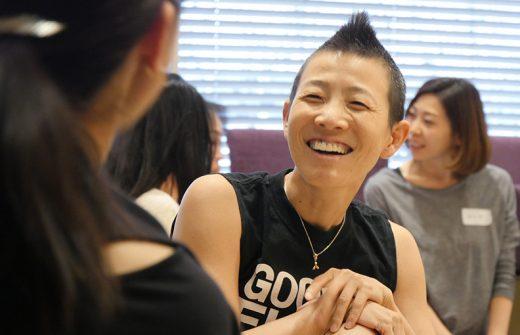 笑顔の高尾先生