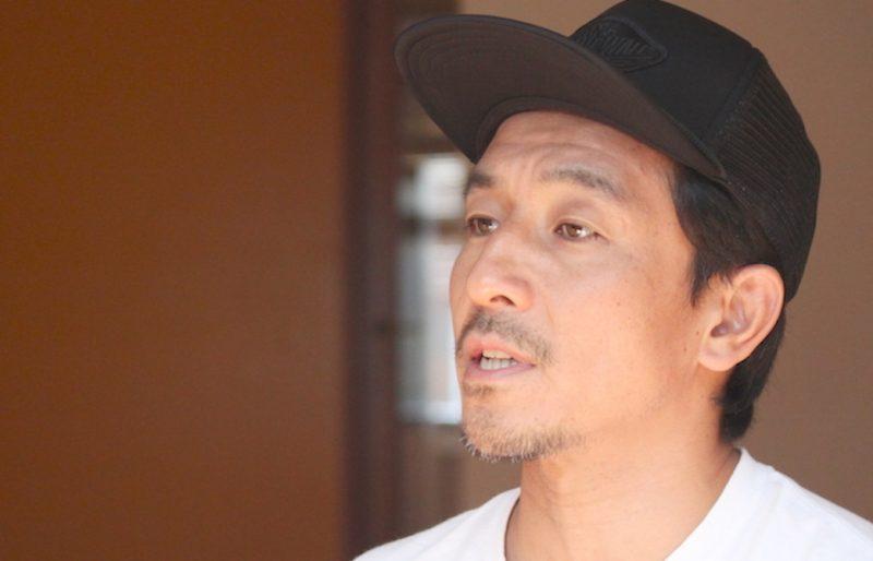想いを語っている山本俊朗先生