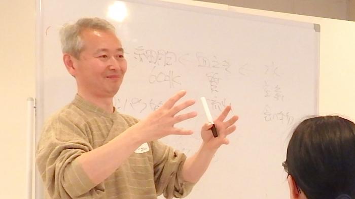野口秀樹さん ヨーガ療法講義