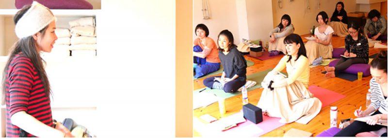 佐久間涼子先生のクラス風景
