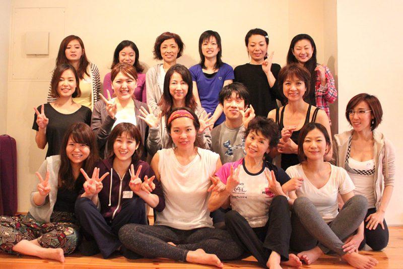 佐久間涼子先生のクラスの集合写真