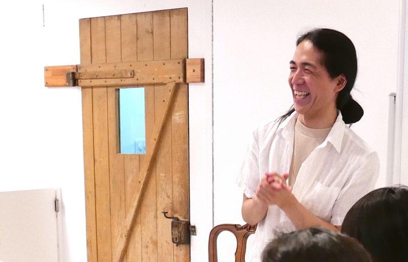 満面の笑みを浮かべる和也先生