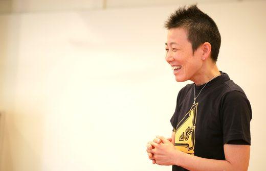 高尾美穂先生の笑顔の横顔