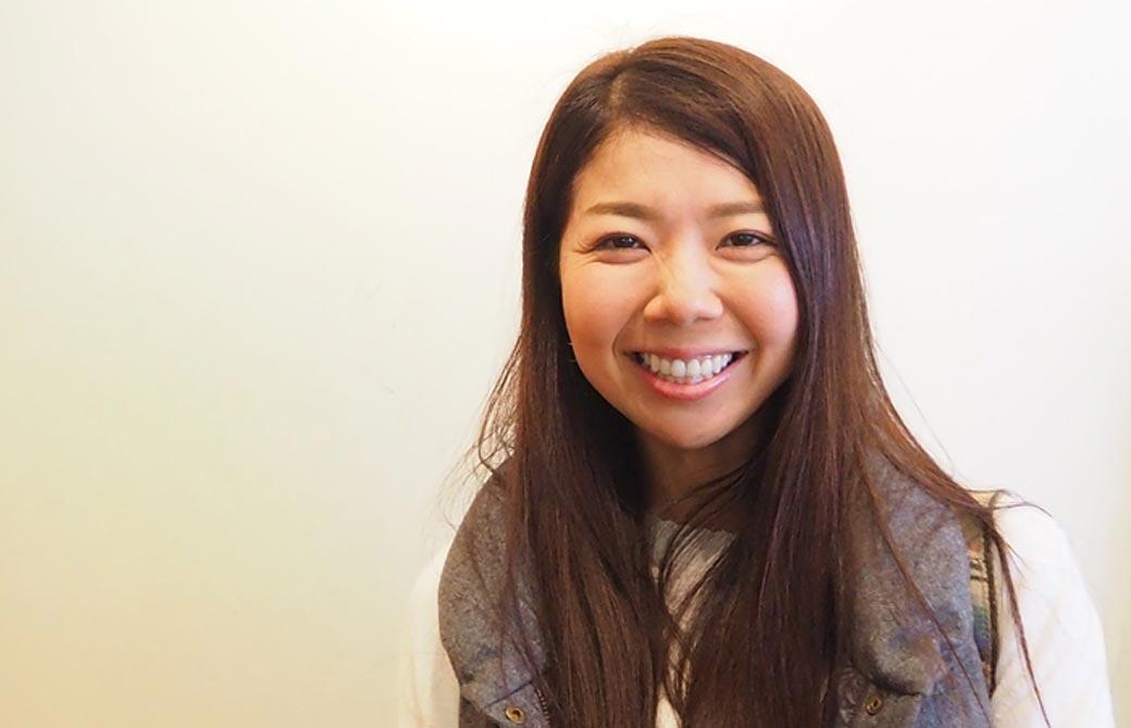 川原朋子先生の生徒さんの笑顔