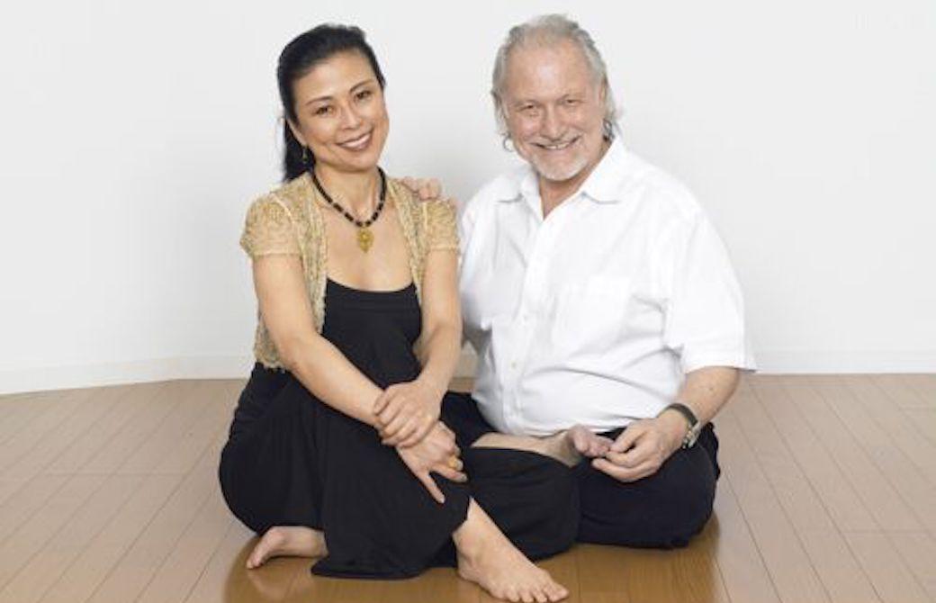 マック久美子先生とアランフィンガー先生