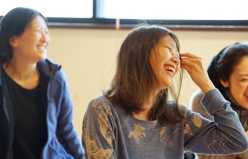 ハートヨガウィーク参加者の笑顔