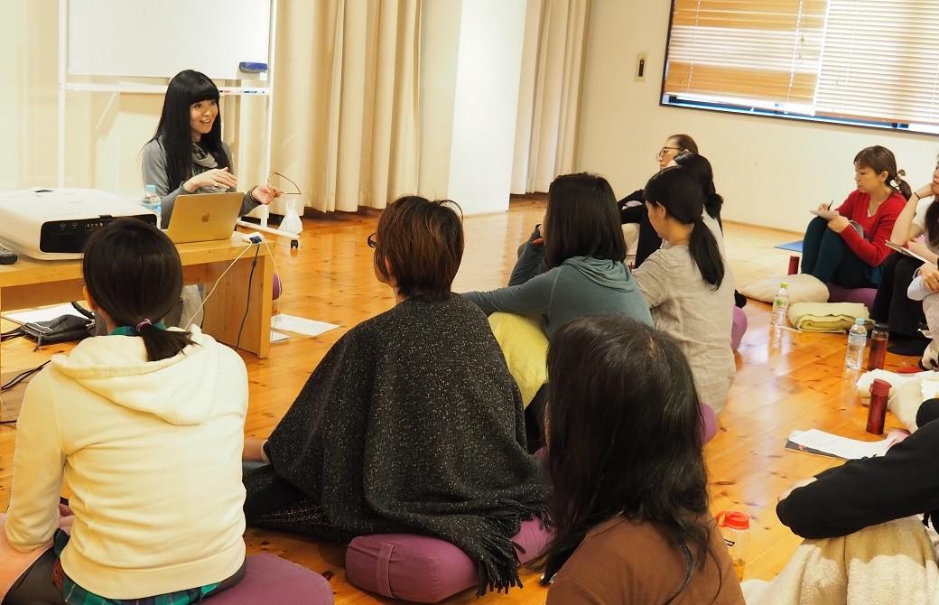 マンソン美子先生講座風景