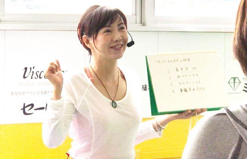 橋倉文枝さんのクラス風景