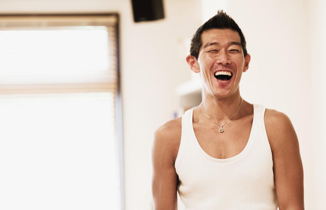 中島正明先生の笑顔
