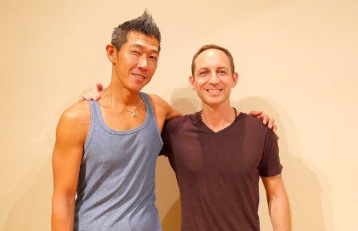 中島正明先生とタイラー・モンガン先生