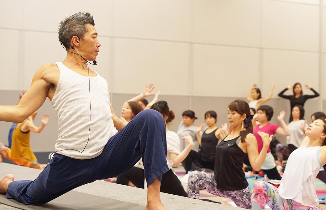 中島正明 ヨガ・瞑想ワークショップ