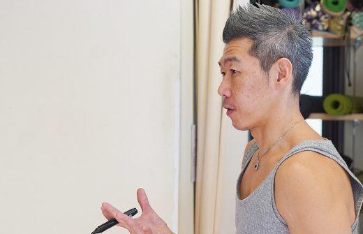 RYT200での中島正明先生の横顔
