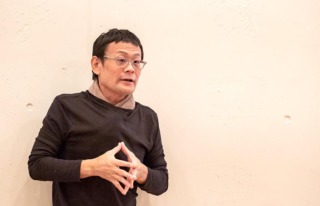 内田かつのり先生が怪我をしない、させない講座でお話している様子