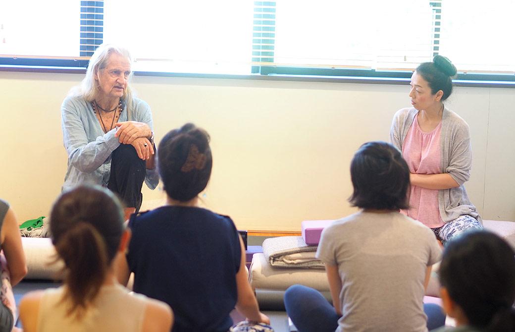 マーク先生と川原朋子先生