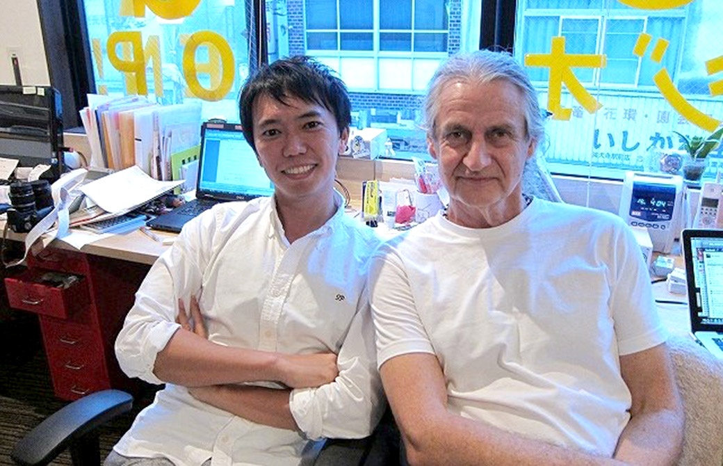 弊社代表MIKIZOとマーク・ウィットウェル先生