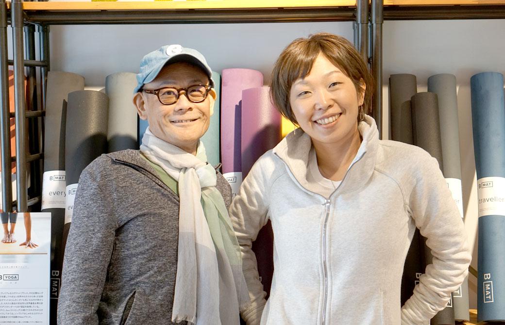 内田かつのり先生とさかたのりこ先生