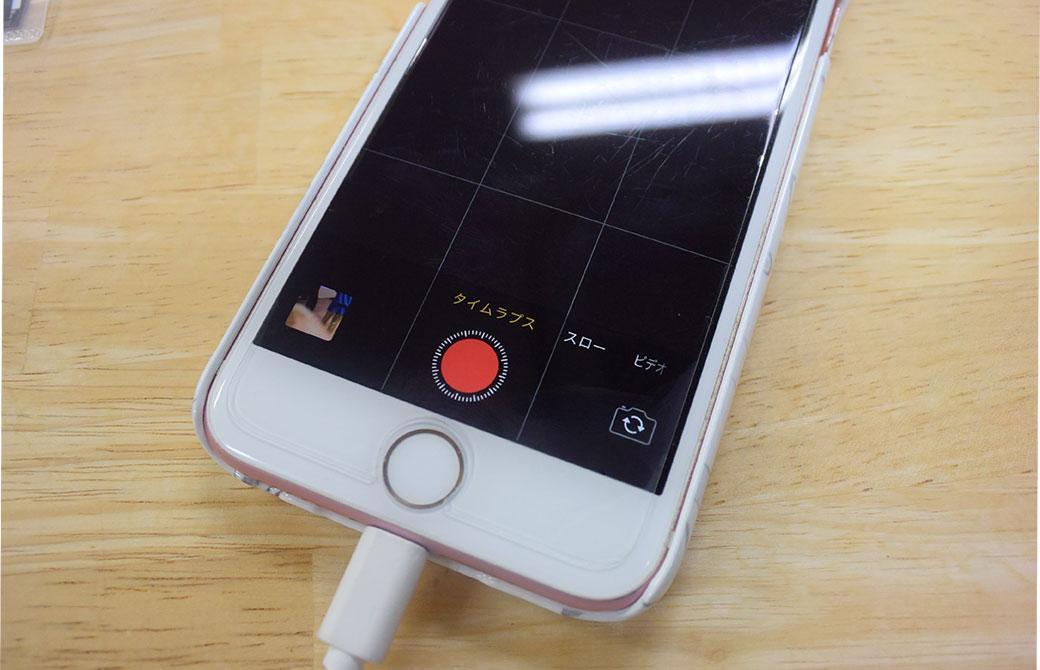 iPhoneのカメラ機能タイムプラス