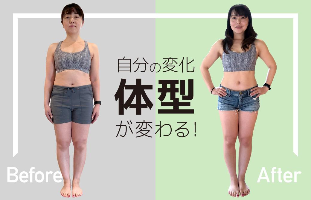 内田かつのり先生のプロコース体型が変わる!