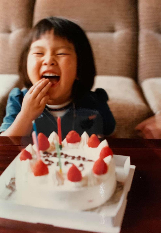 ヨーコ先生、4歳のお誕生日