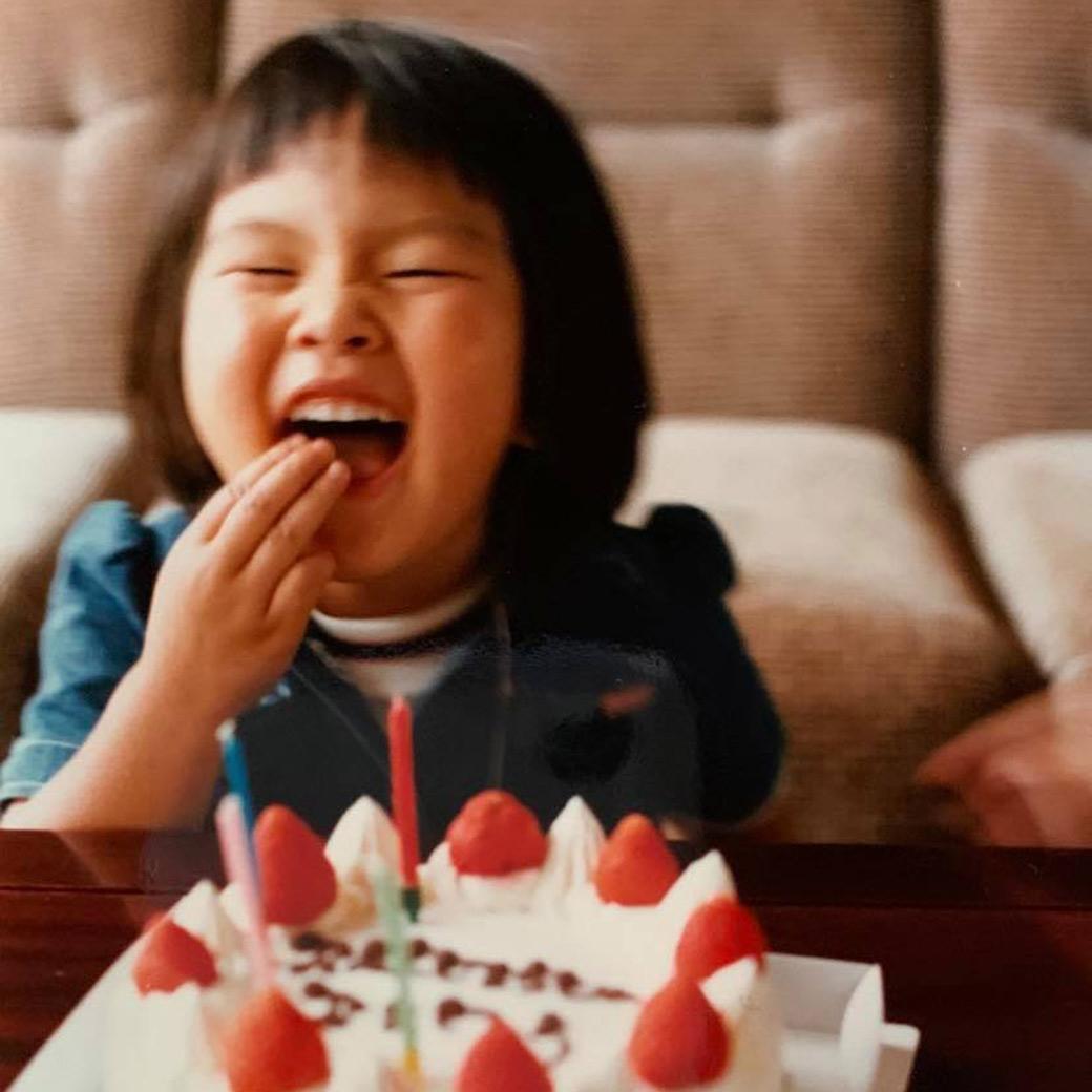 ヨーコ・フジワラ3歳のお誕生日