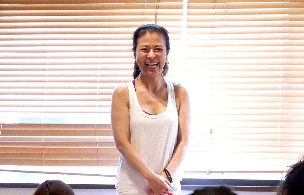 マック久美子先生の笑顔 kumiko-Sankalpa-2