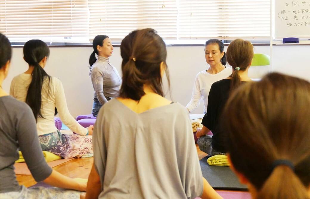 マック久美子先生の瞑想講座 kumiko-Sankalpa-3
