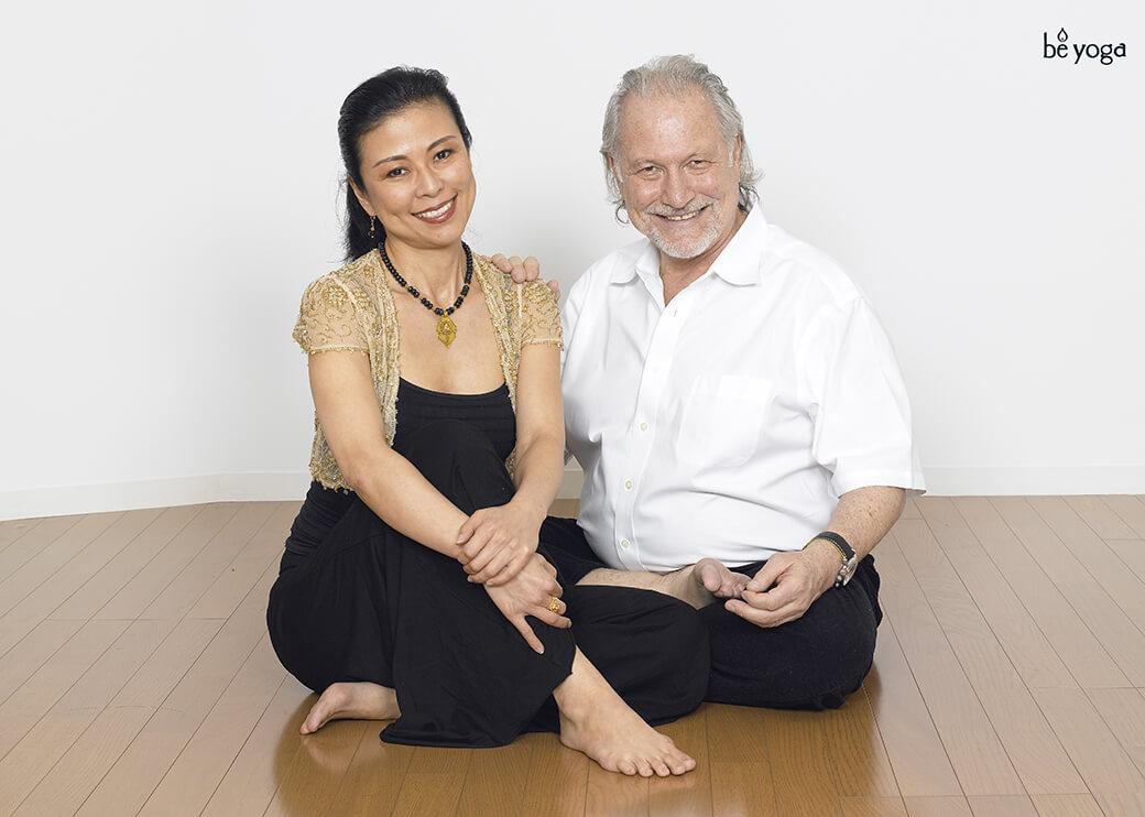 マック久美子とアラン・フィンガー